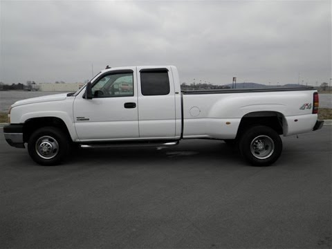 Wilson County Chevrolet >> sold.2006 CHEVROLET 3500 HD SILVERADO EXT CAB 2LT 4X4 6.6 DIESEL DUALLY 208K CALL 855-507-8520 ...