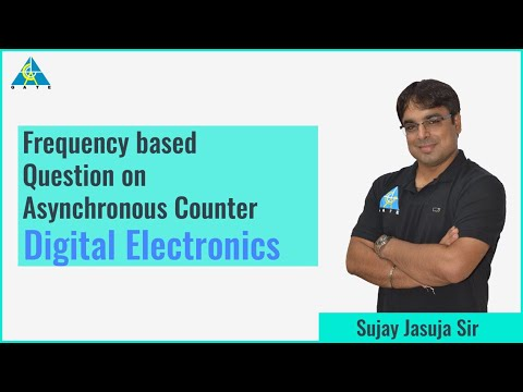 Frequency Based Question on Asynchronous Counter | Digital Electronics