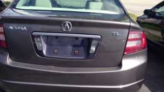 Acura tl 2008 start up and indepth tour