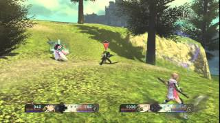 Tales of Zestiria - Alisha Gameplay (Random Battles)