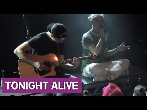 TONIGHT ALIVE - CONCERTVLOG #2 - Dreaming Out Loud