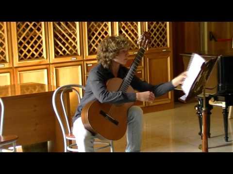 Carcassi studio n.9 op.25 - Sor Studio n.8 op.35 - Bruno Pinto, Guitar