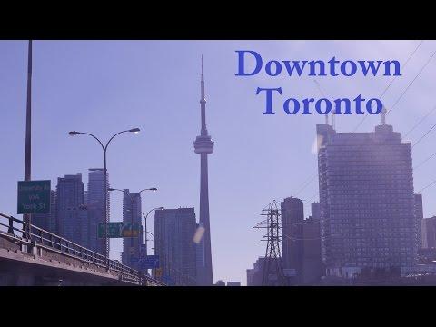 Queen St. Toronto, Eaton Centre and Sariwon Korean BBQ Restaurant
