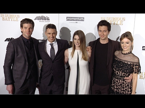 In Dubious Battle Premiere Ashley Greene, James Franco, Ahna OReilly, Nat Wolff Arrivals