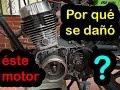 ✔ AKT SL 125 motor dañado - ¿Por qué?