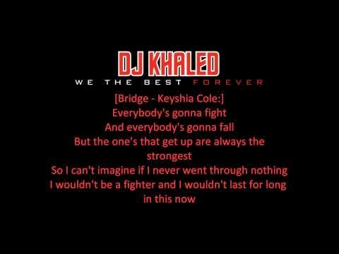 DJ Khaled Ft. Chris Brown, Keyshia Cole & Ne-Yo -- Legendary (With Lyrics) [We The Best Forever]