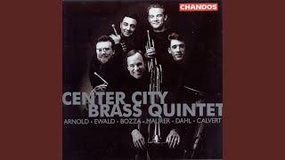 Brass Quintet No. 1 in B-Flat Minor, Op. 5: I. Moderato