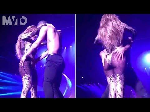 JLo y su bailarín encienden el escenario de Las Vegas   The MVTO