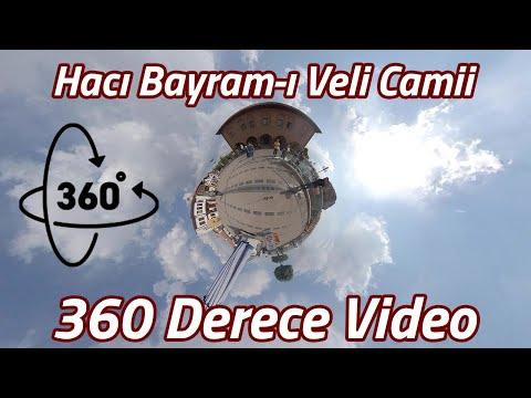 Hacı Bayram-ı Veli Camii 360 Derece Video