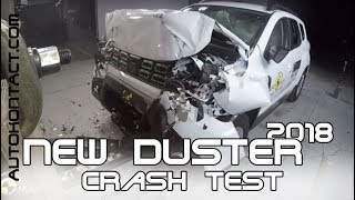 New Duster 2018 Crash Test. EURO NCAP ★★★✩✩