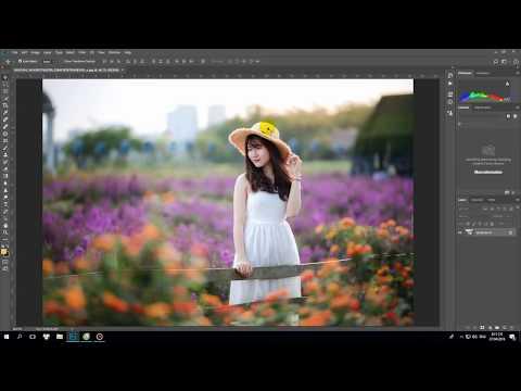 photoshop Tạo 4 góc tối - hiệu ứng Lens Correction