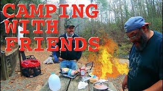 Hanging With Friends - Georgia Gorge & River Camping