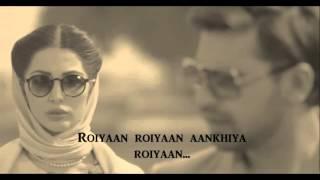 ROIYAAN By Farhan Saeed [ Karaoke Track ]