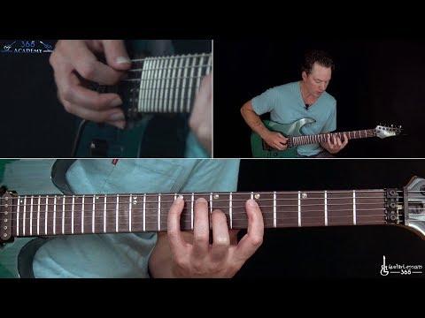 Megadeth - In My Darkest Hour Guitar Lesson (Rhythms - Part 1)