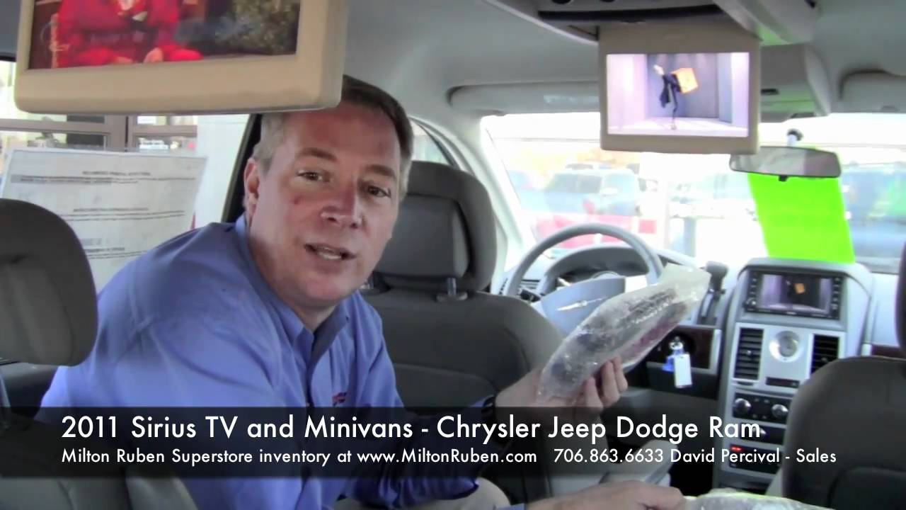 2011 Sirius TV and Minivans - Milton Ruben Chrysler Jeep ...