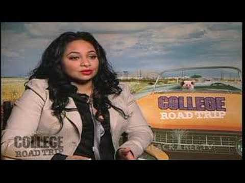 Raven-Symone Interview, 'College Road Trip' (All Grown Up)