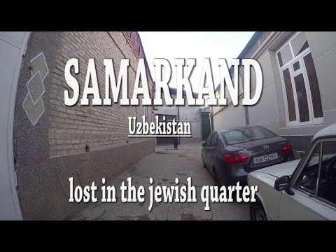 Lost in the jewish quarter in Samarkand - Uzbekistan