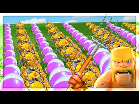 BIGGEST RAID LOOT EVER in Clash of Clans! MASSIVE PROFIT!