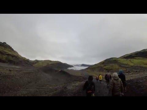 Afternoon Stroll to Mýrdalsjökull glacier - Iceland