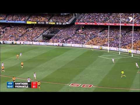 2013 AFL Grand Final - 5 minutes to go (Hawthorn Vs Fremantle)
