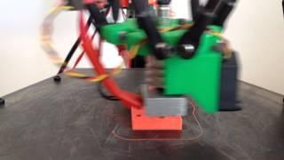 Kossel Mini Running Printed Recirculating Linear Bearings
