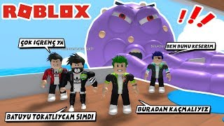 ESCAPE FROM The OCTOPUS / Escape The Cruise Ship Obby / Roblox English
