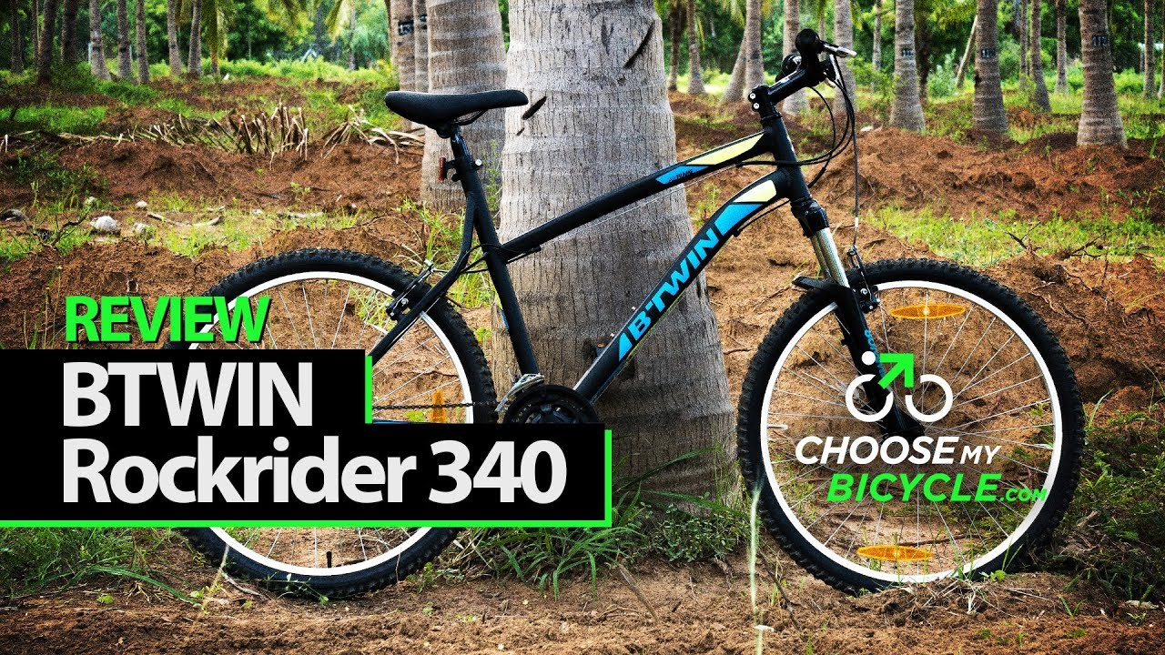 193fc6f67 Btwin Rockrider 340 Mountain Bike  ChooseMyBicycle.com Expert Review -  YouTube
