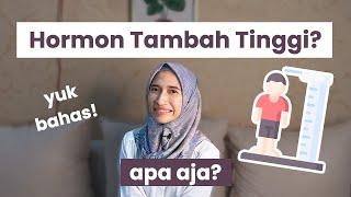 4 Hormon yang Berpengaruh Dalam Pertambahan TINGGI BADAN   dr. Vania Utami