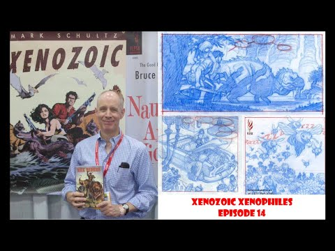 Xenozoic Xenophiles Episode 14: Mark Schultz Interview