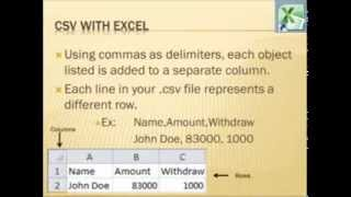 24 - What is CSV