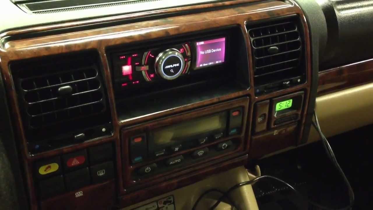 2003 Land Rover Discovery Stereo Alpine Ida X305s Pandora