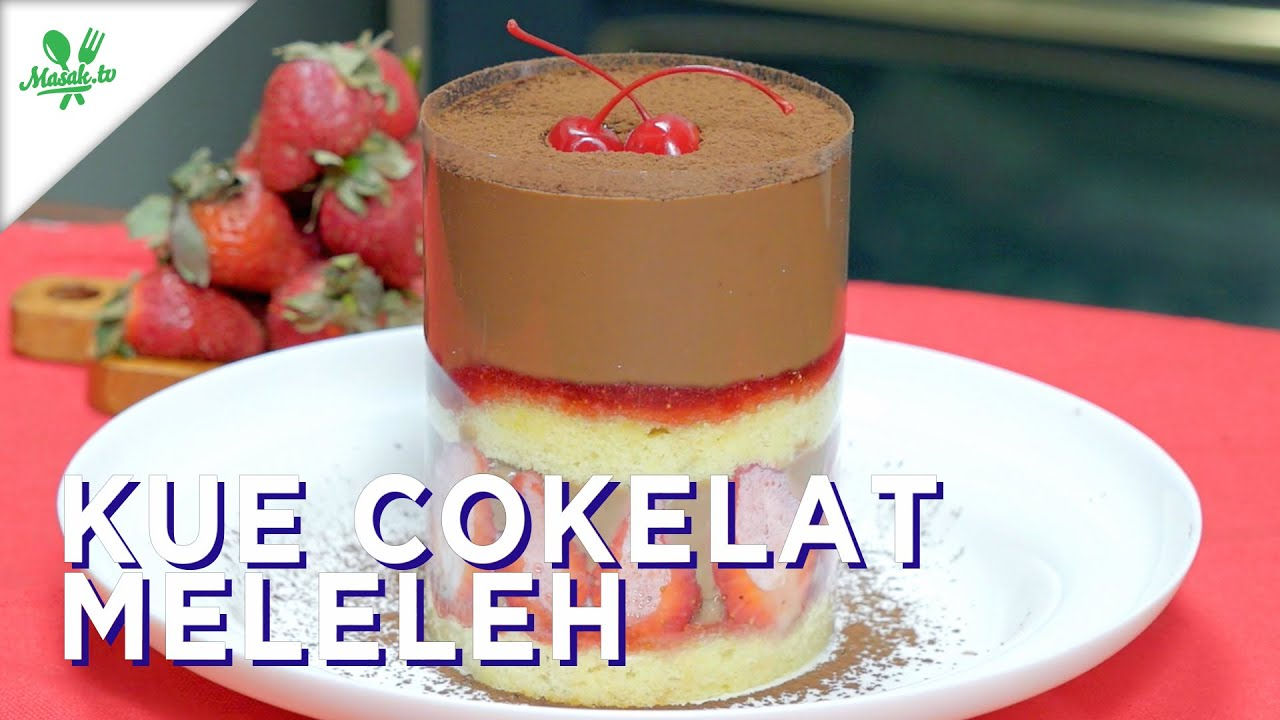 Kue Cokelat Meleleh (Melted Cake)