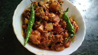 Tasty. Fried Broccoli/. Swadisht broccoli ki sabzi/Indian Thali
