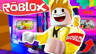 999.999 ROBLOOOOOOX GAMES!! ARCADE TYCOON ROBLOX 💙💚💛 BE BE MILO VITA AND ADRI 😍