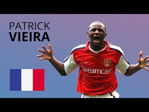Patrick Vieira -Sublime Tackles, Skills, Goals & Assists Carrier Compilation HD