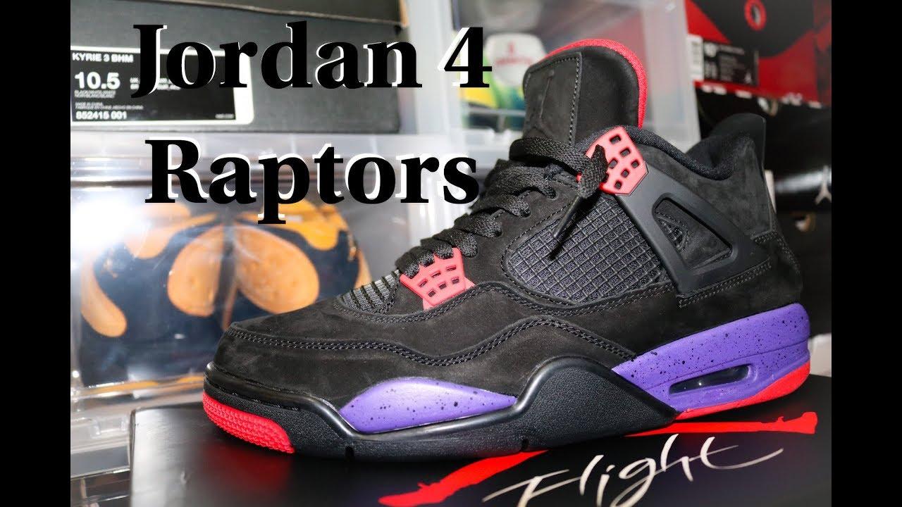 33ddccd7e4597d Air Jordan 4 Raptors Review   Dope On Feet!! - YouTube