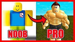 ¡PASAMOS de NOOB a PRO en ROBLOX! 😱⚠️ ¿EL PARKOUR MAS FÁCIL de ROBLOX? 😂 #shorts