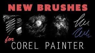 January 2019 New Corel Painter Brushes