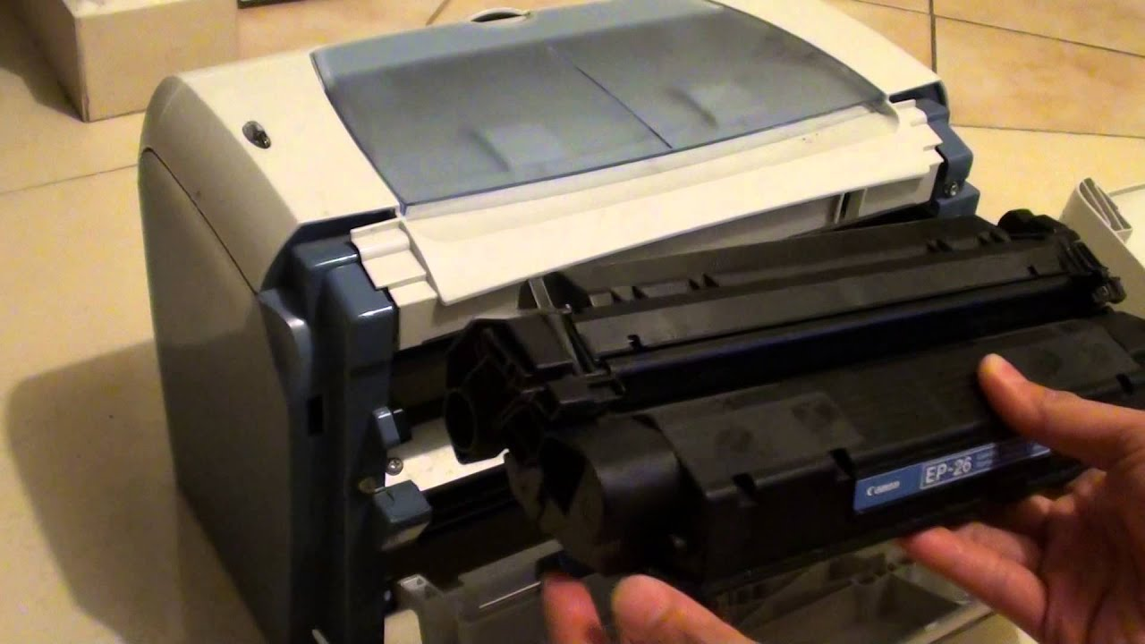 Canon Lbp3200 Laser Printer How To Replace Ink Toner