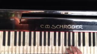 Баста feat Tati - Вселенная пианино урок