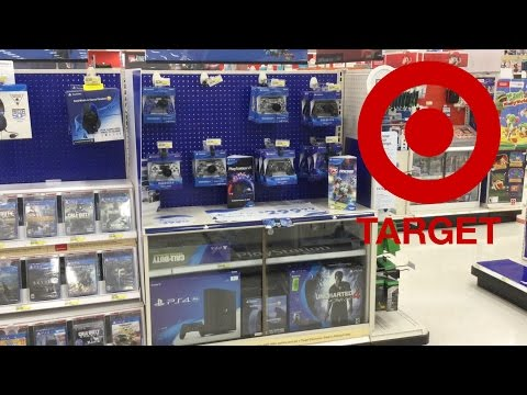 LOOKING AT PS4 ACCESSORIES (TARGET)