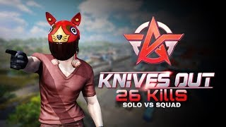 【Knives Out】DEAD 26 kills [full match] M4A1 (Iron Look)