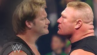 Chris Jericho Returns and Confronts Brock Lesnar