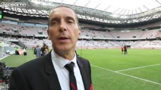 FMFC  - Fabrice Mauro, speaker de l'OGCNICE