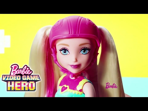 Barbie ™ Video Game Hero Light-up Skates Doll and Match Game Princess™ | Barbie