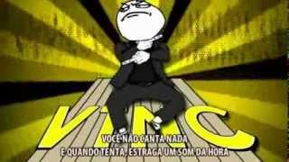 HOMENAGEM AO LATINO ( Vai tomar no cu) Gangnam Style MEMES.