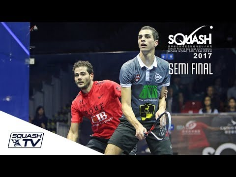 Squash: Hong Kong Open 2017 - Gawad v Farag - Men's SF Roundup