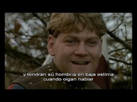 Enrique V De Kenneth Branagh 1989 Discurso A Las Tropas Antes De La Batalla De Agincourt Vos