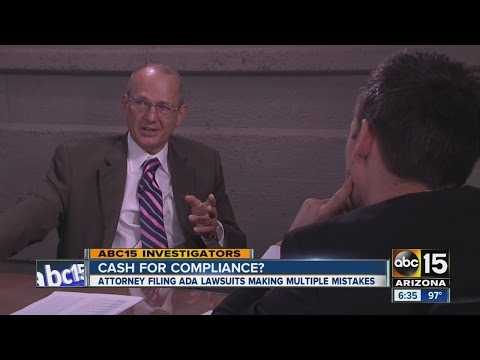 Arizona Attorney Filing ADA Lawsuits Making Multiple Mistakes