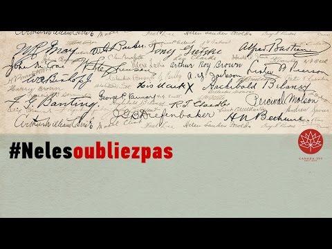 100 histoires : Les Canadiens à la Première Guerre mondiale